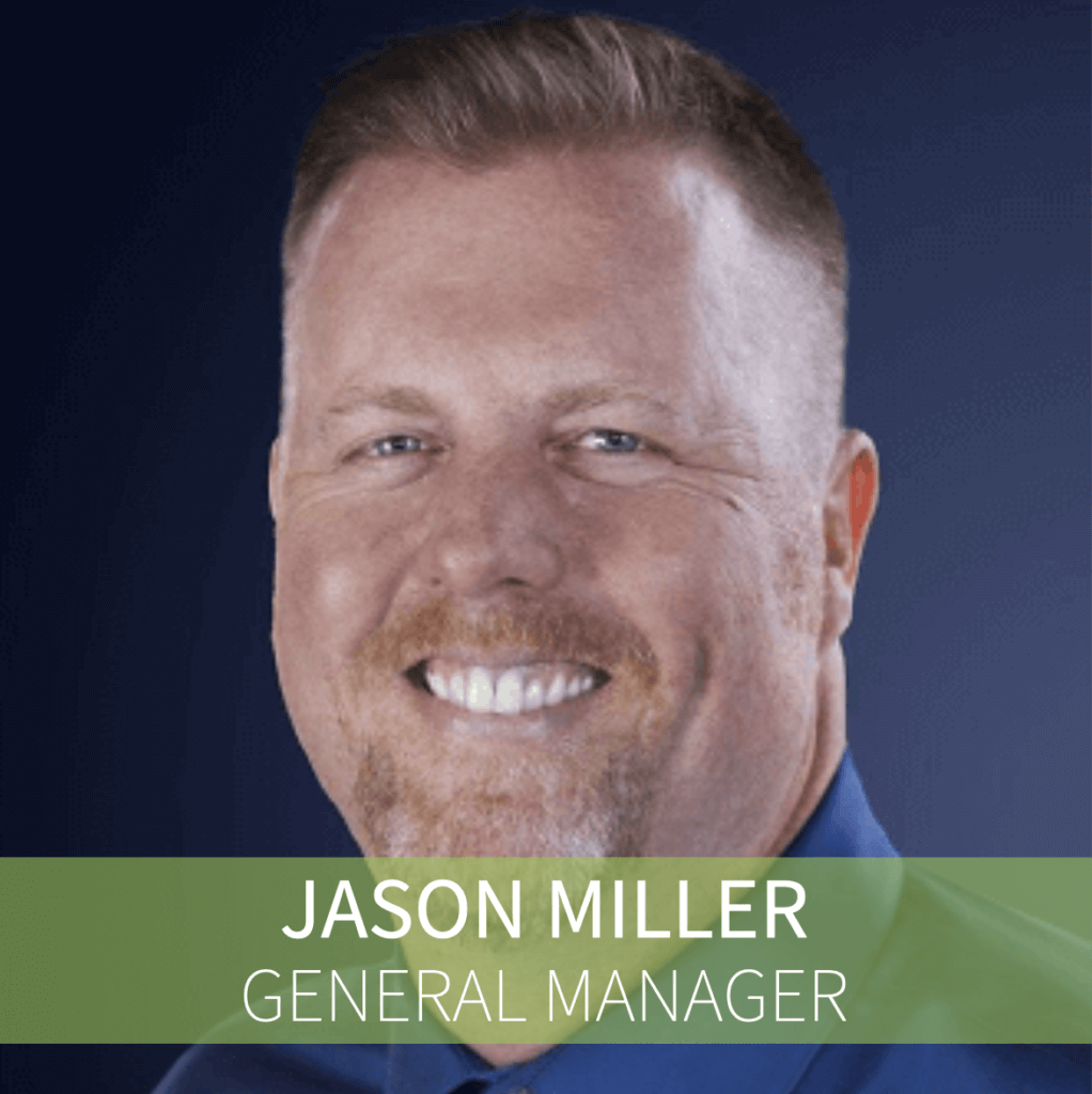 Jason Miller General Manager Headshot