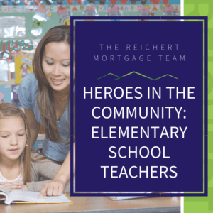 featured photo of heroes in the community spotlighting elementary school teachers