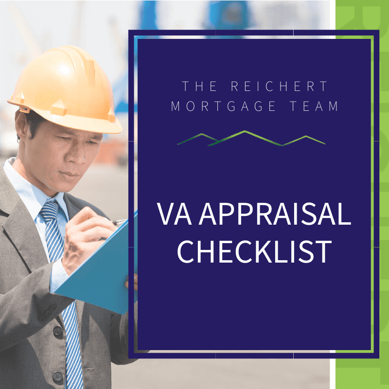Lender Appraisals: The Reichert Mortgage Team